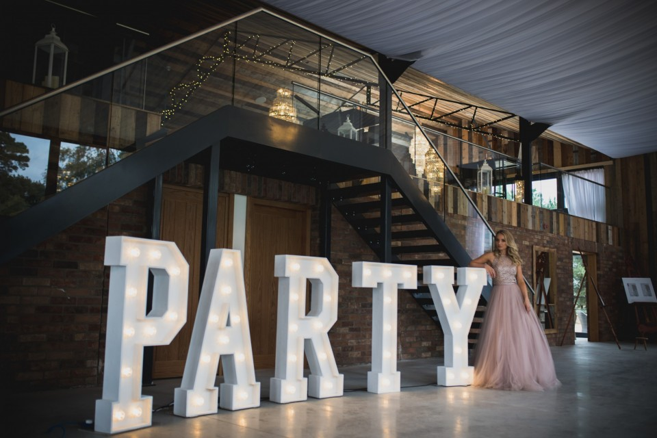 Surrey Wedding Decor, Styling & Prop Hire - Celebratory Words