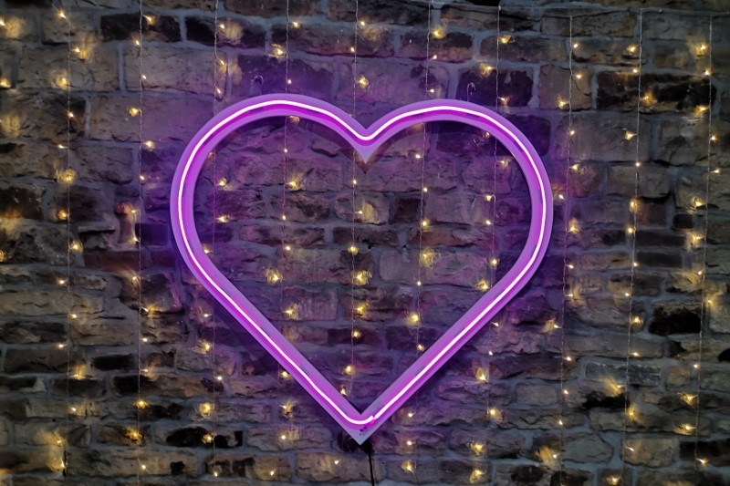 Neon Wedding Sign to Hire