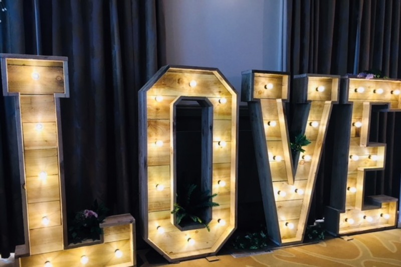 Rustic love letters leeds the mansion roundhay