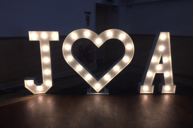 light up letters sheffield