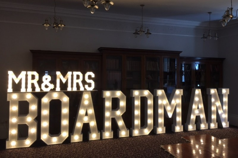 Best quality light up letters to hrie in Sheffield