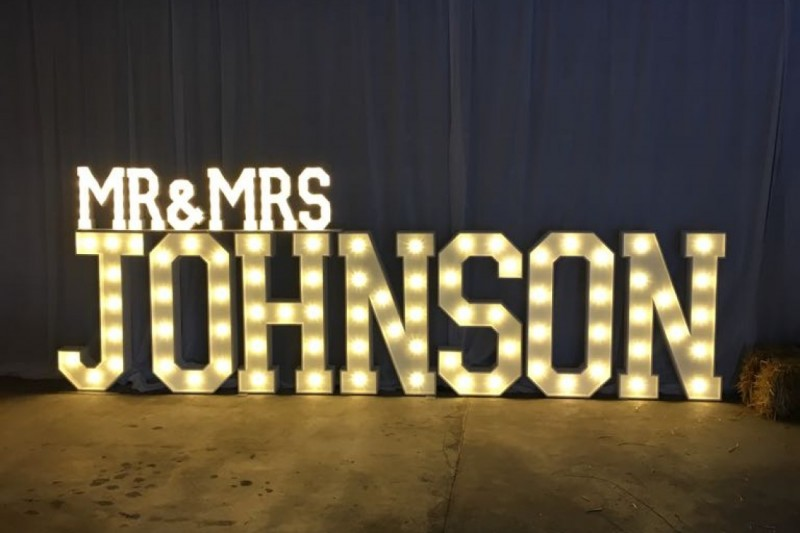 light up surname letters hull