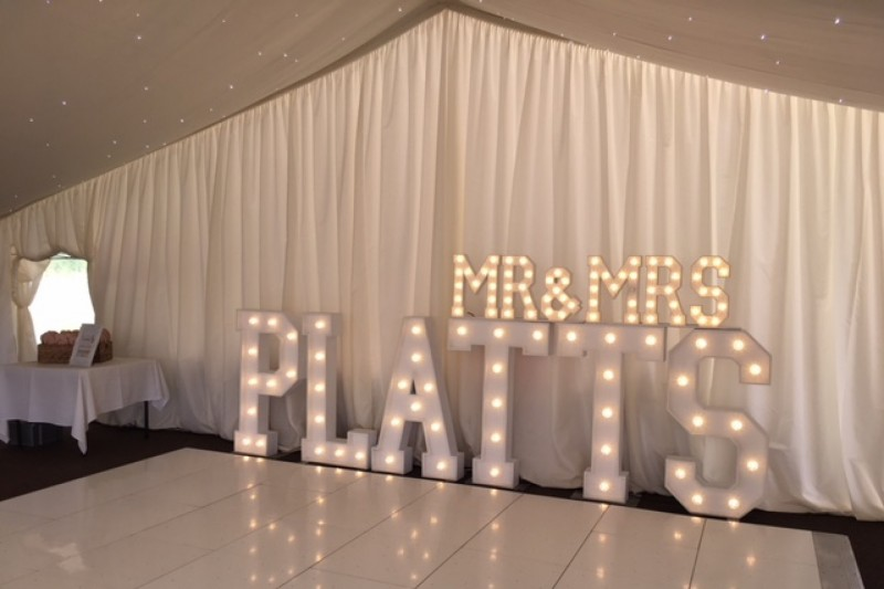 light up surnames for hire chesterfield