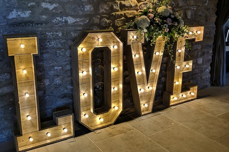 Rustic Love Letters to Hire in Yorkshire